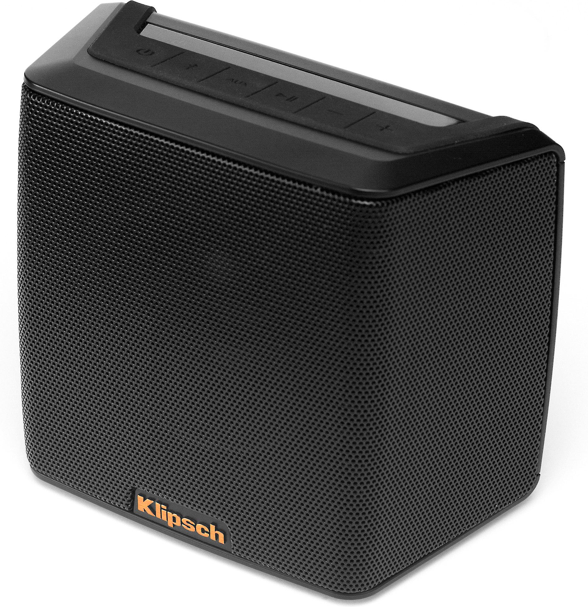 Klipsch® Groove® Splash-proof portable Bluetooth® speaker at Crutchfield