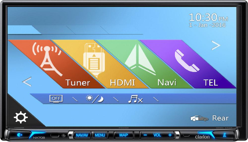 Clarion NX706 Navigation receiver at Crutchfield.com