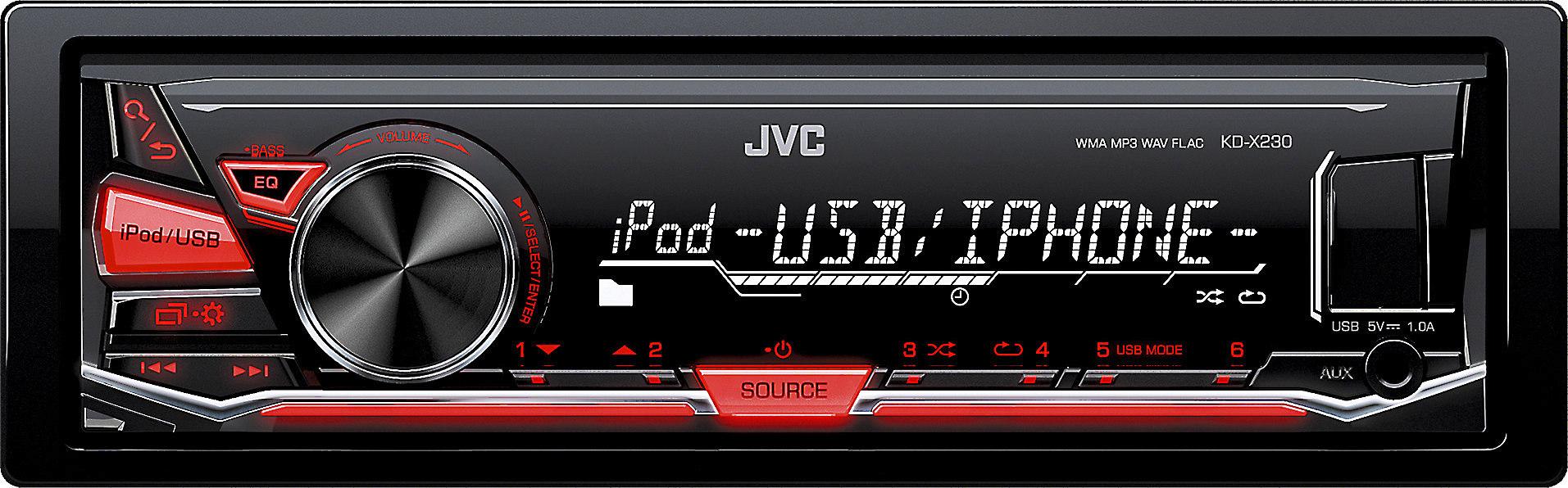 JVC KD-X230