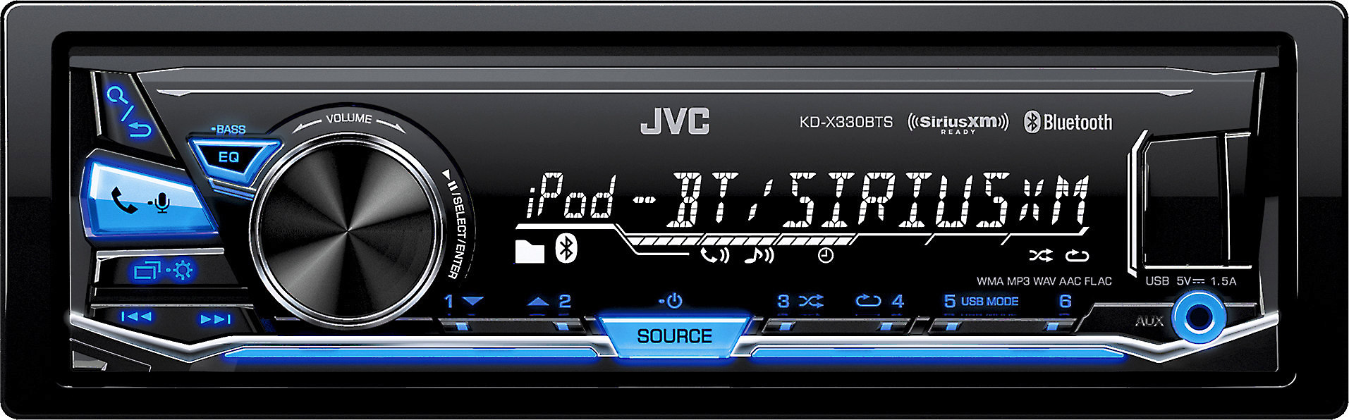 jvc kd x330bts digital media receiver (does not play cds) at JVC R330 Wiring-Diagram jvc kd x330bts digital media receiver (does not play cds) at crutchfield com