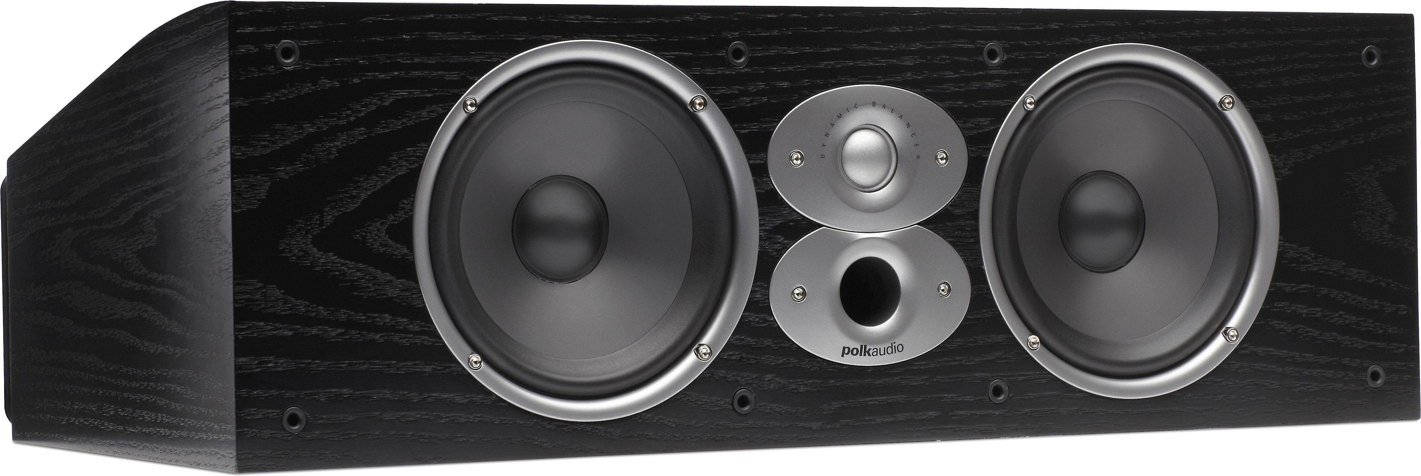 Customer Reviews Polk Audio Csi A6 Black Center Channel Speaker At Crutchfield