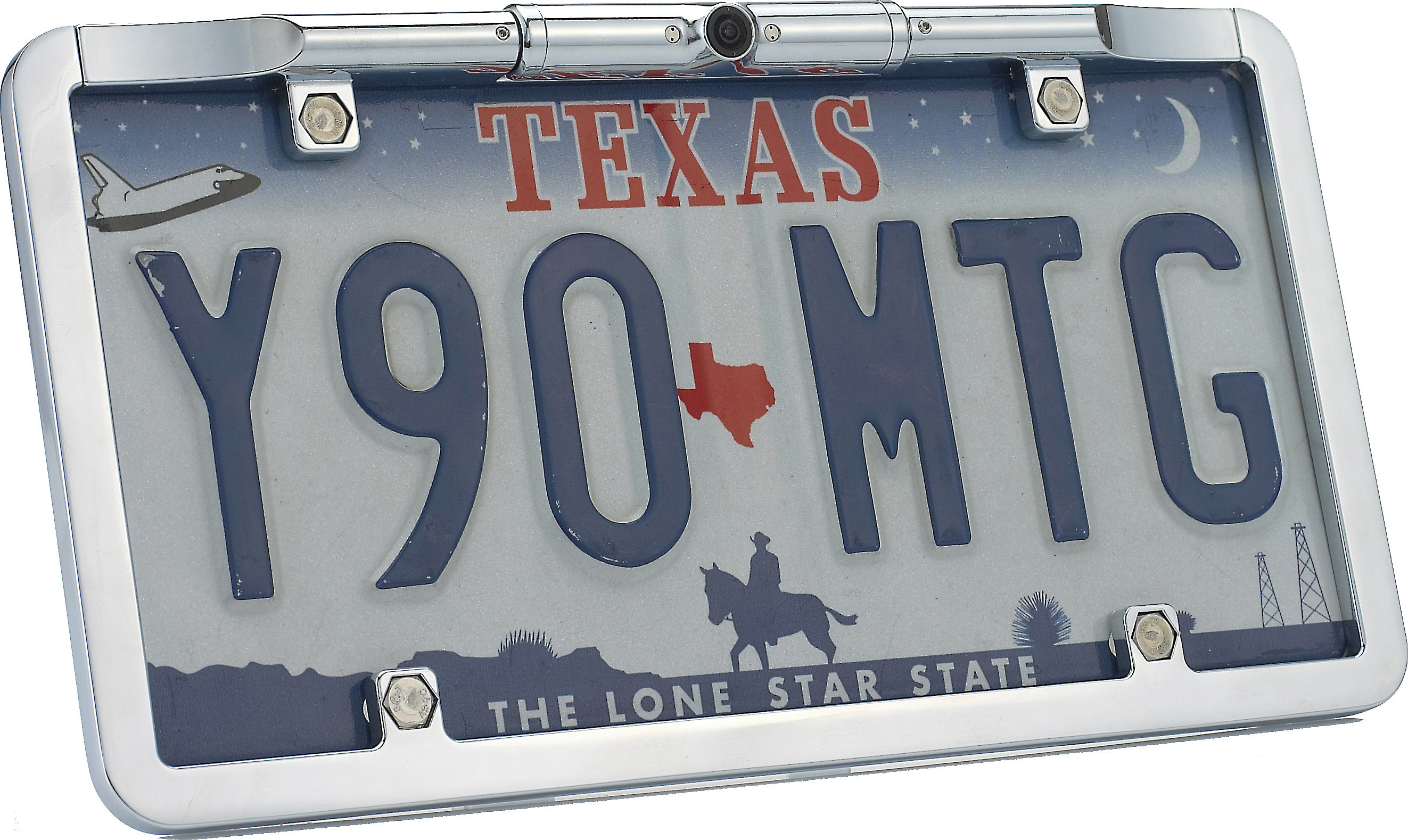 License Plate Frame Yes I Can Drive Stick Zinc Weatherproof Car Accessories