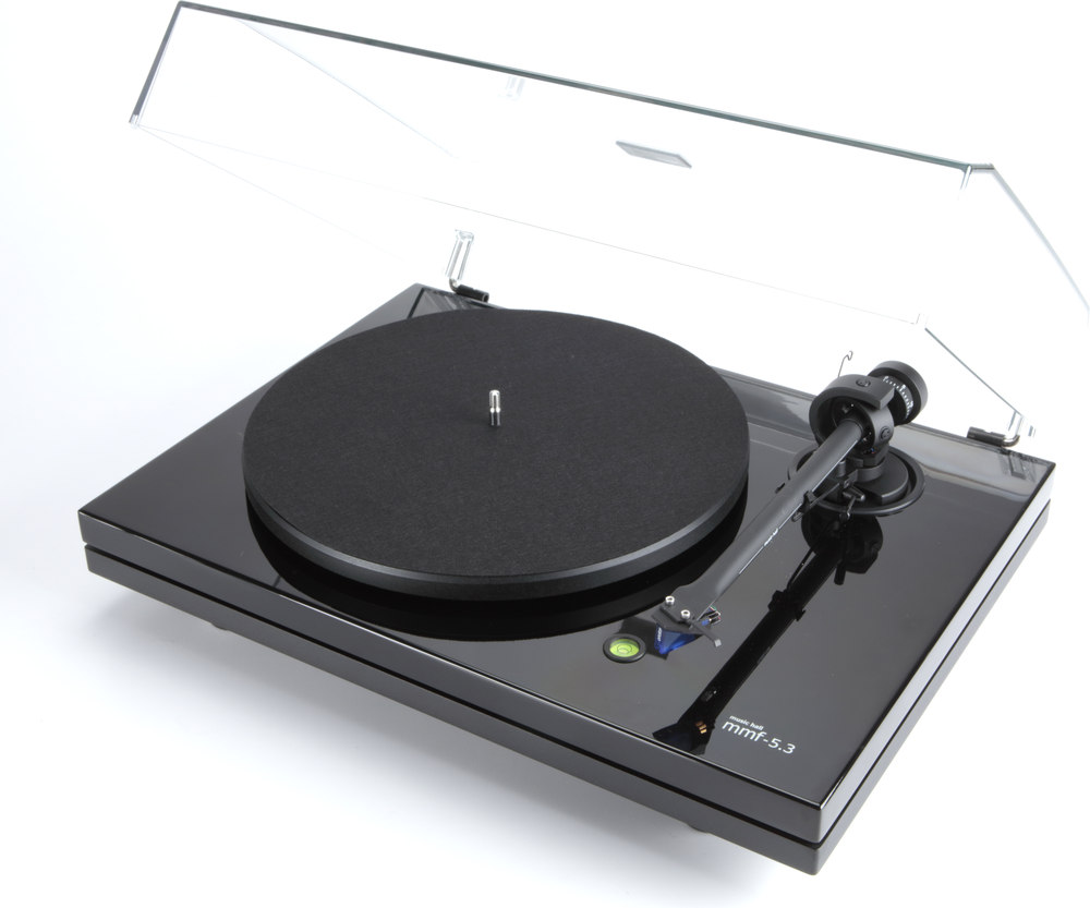music hall mmf 5 3 manual belt drive turntable with pre mounted cartridge at. Black Bedroom Furniture Sets. Home Design Ideas