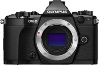 "Olympus OM-D E-M5 Mark II Body Only- Black  16MP, 3"" Tilt..."