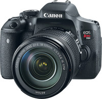 Canon EOS Rebel T6i w/ 18-135mm IS STM Kit