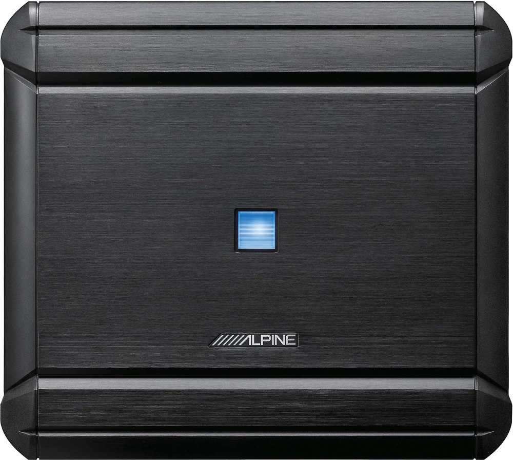 Alpine MRV-V500 5-channel car amplifier — 40 watts RMS x 4 at 4 ohms + 250  watts RMS x 1 at 2 ohms at Crutchfield.com