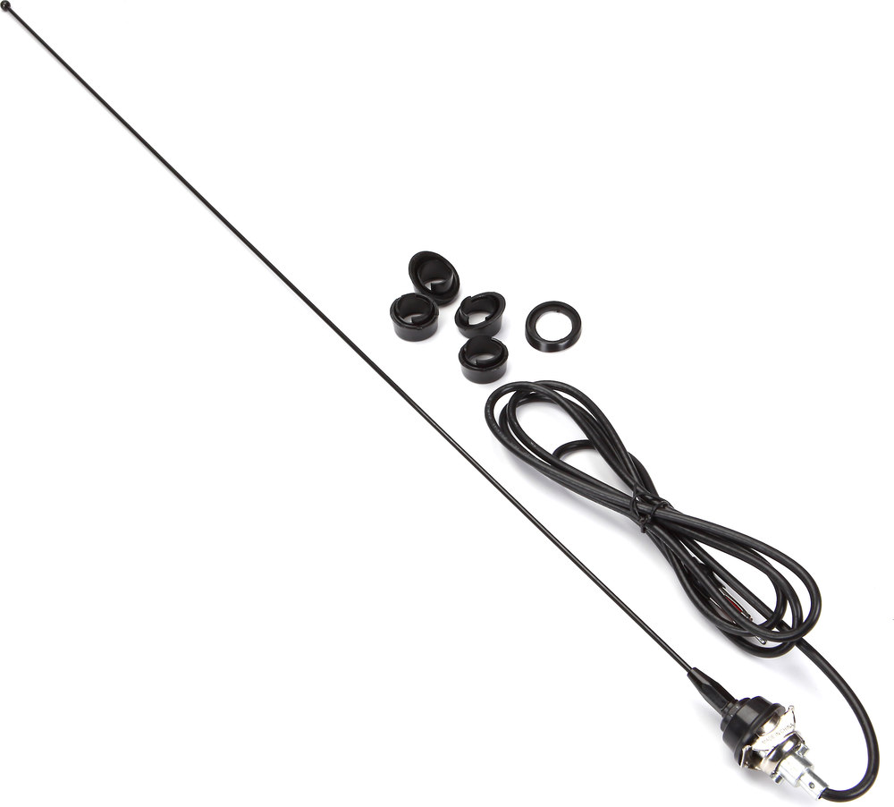 replacement am  fm antenna black stainless steel antenna