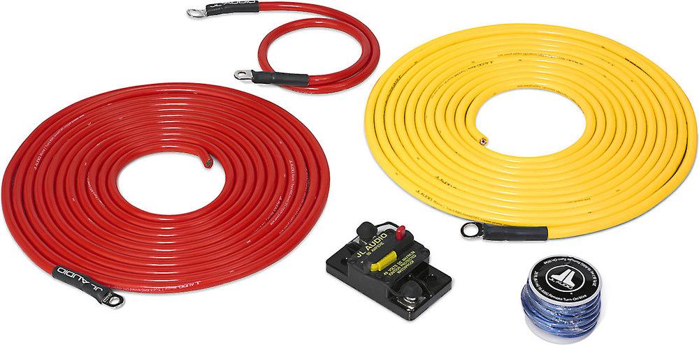 jl audio marine amp wiring kit 20 feet 6 gauge amplifier wiring rh crutchfield com JL Audio Logo jl audio subwoofer wiring kit