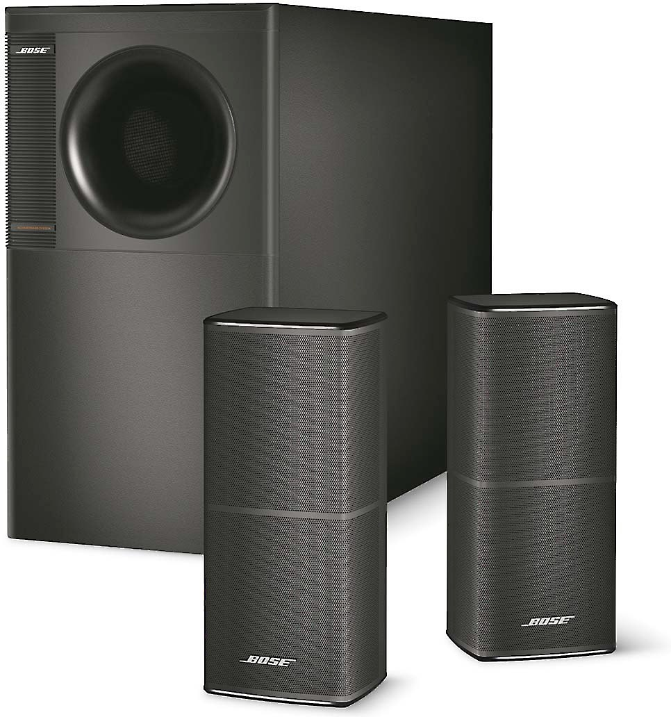 Bose® Acoustimass® 5 Series V speaker system (Black) at Crutchfield.com