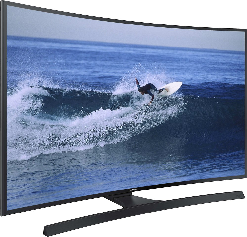 Samsung Un55ju6700 55 Curved Smart Led 4k Ultra Hd Tv 2015 Model