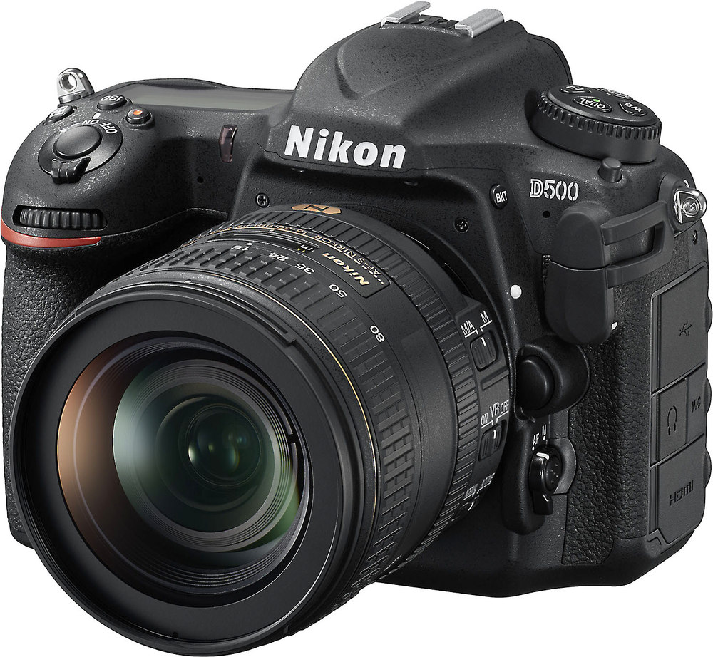 Nikon D500 Kit 209 Megapixel Dslr Camera With Wi Fi Bluetooth Where To Get Parts Diagram For A D5000 Slr Dx Vr Afs And 16 80mm F 28 4e Ed Zoom Lens At