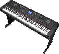 Yamaha DGX660B  88-Key Ensemble Digital Piano w/stand