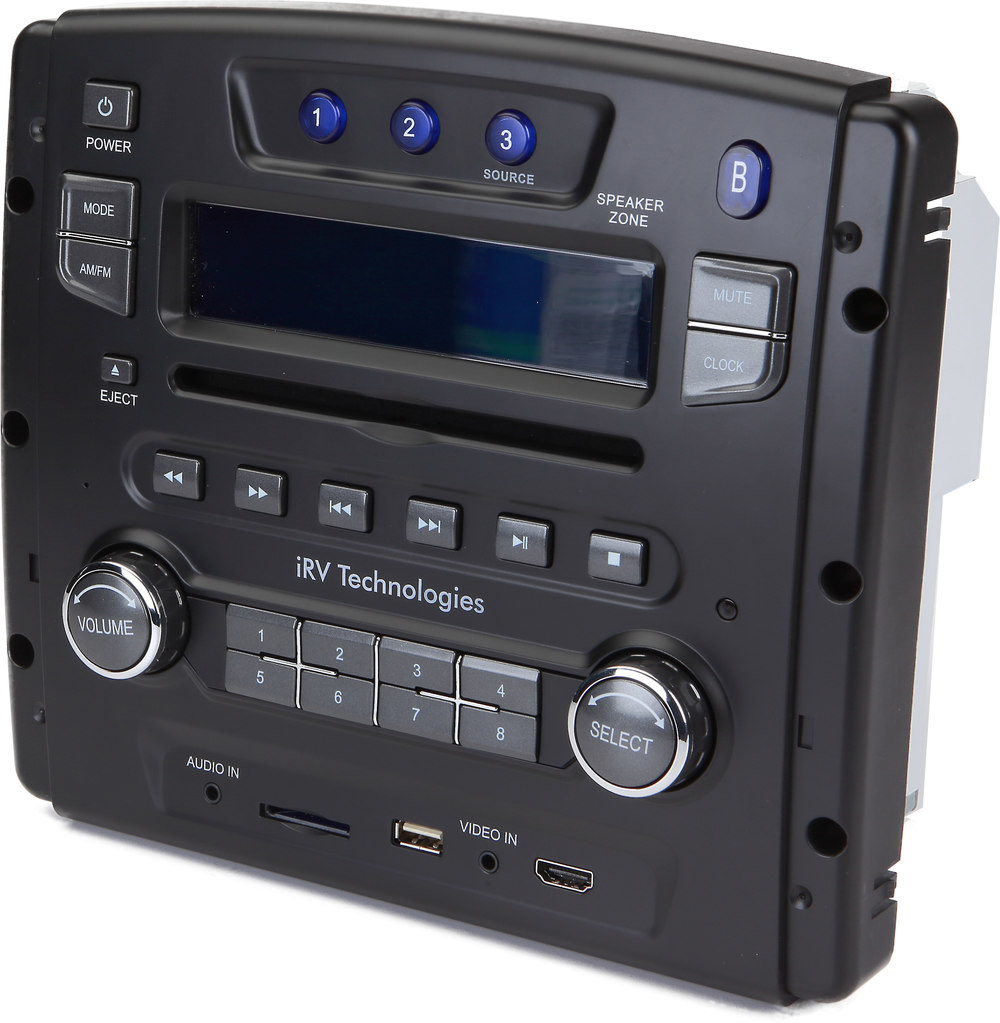Irv Irv34 Multimedia Receiver For Rvs At Crutchfield Com