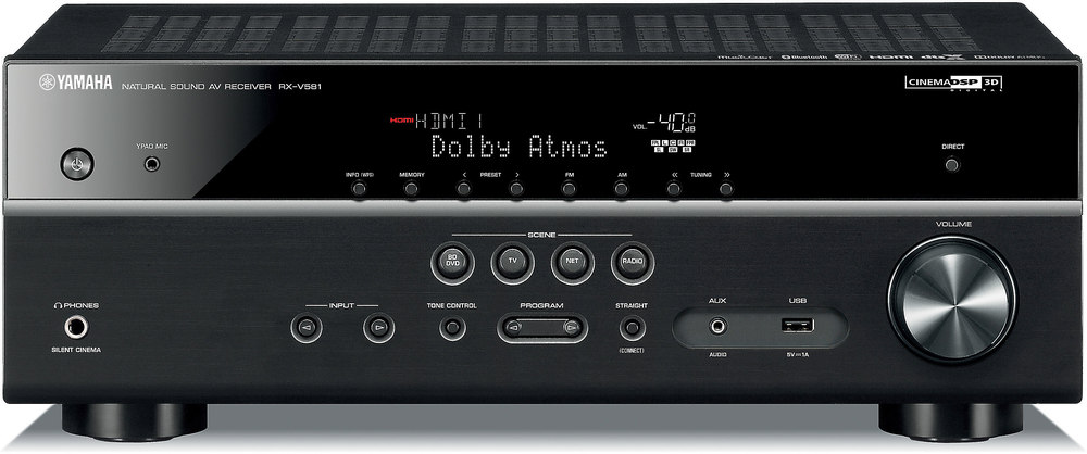 yamaha rx-v581 7.2-channel home theater receiver with wi-fi