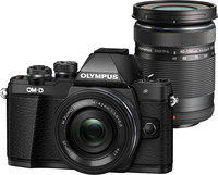 Olympus OM-D E-M10 Mark II Two Lens Kit w/ 14-42mm and  4...
