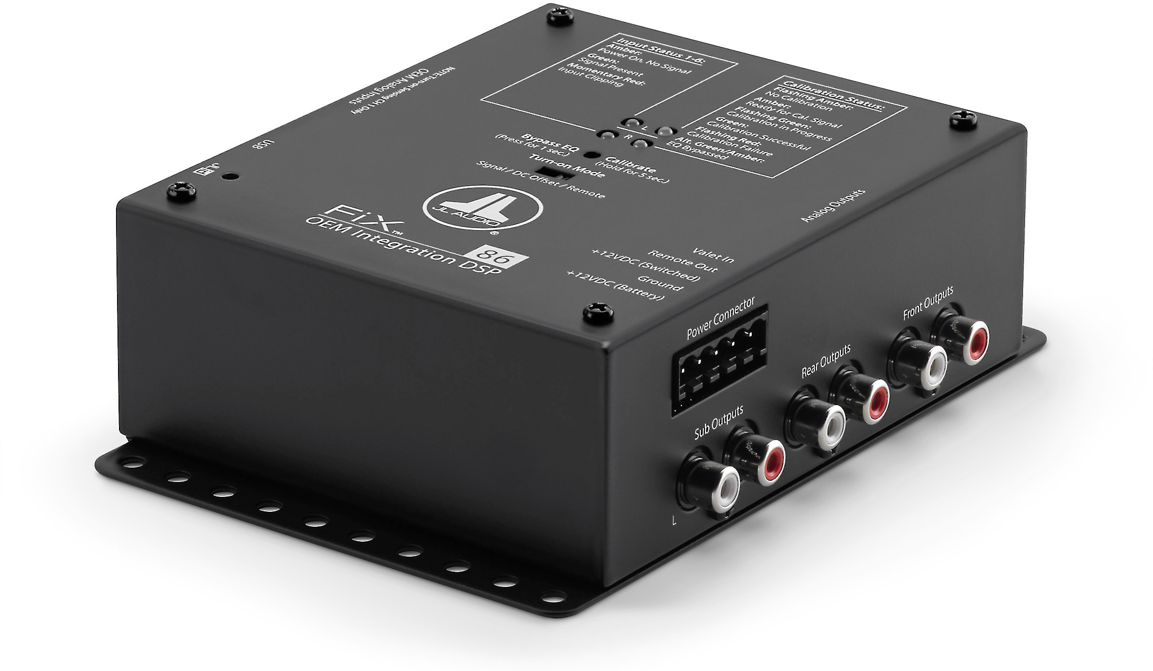 b4577d43 JL Audio FiX™ 86 Sound processor for adding amps and speakers to a factory  system — 6 outputs at Crutchfield.com