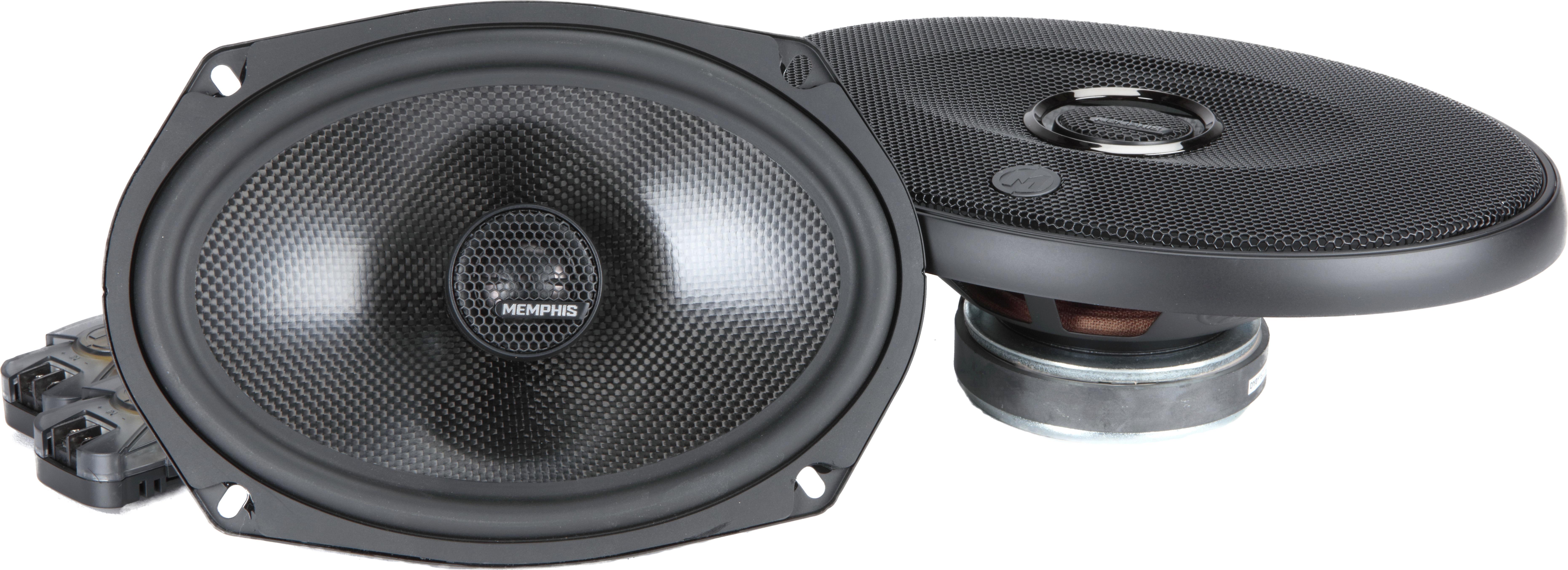 "Pair with 120 Watts Peak Power Memphis Audio Two 6/""x9/"" 3-Way Car Speakers"