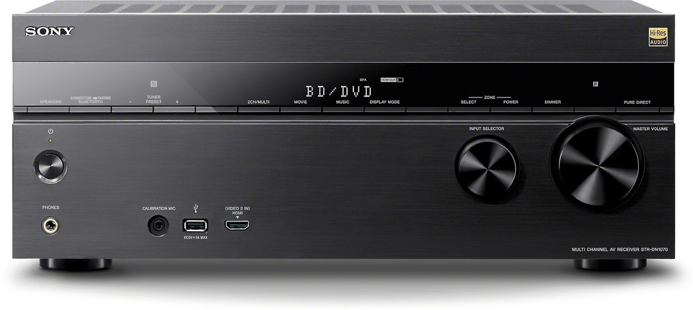 sony str dn1070 7 2 channel home theater receiver with wi fi rh crutchfield com Home Theater Sony Blue Ray Model 300 Home Theater Sony Blue Ray Model 300