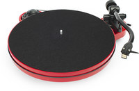 PRO-JECT RPM 1 Carbon Gloss Red  turntable w/Pearl cartridge