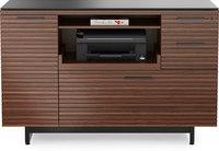 BDI Corridor Multifunction Cabinet  Chocolate Stained Walnut