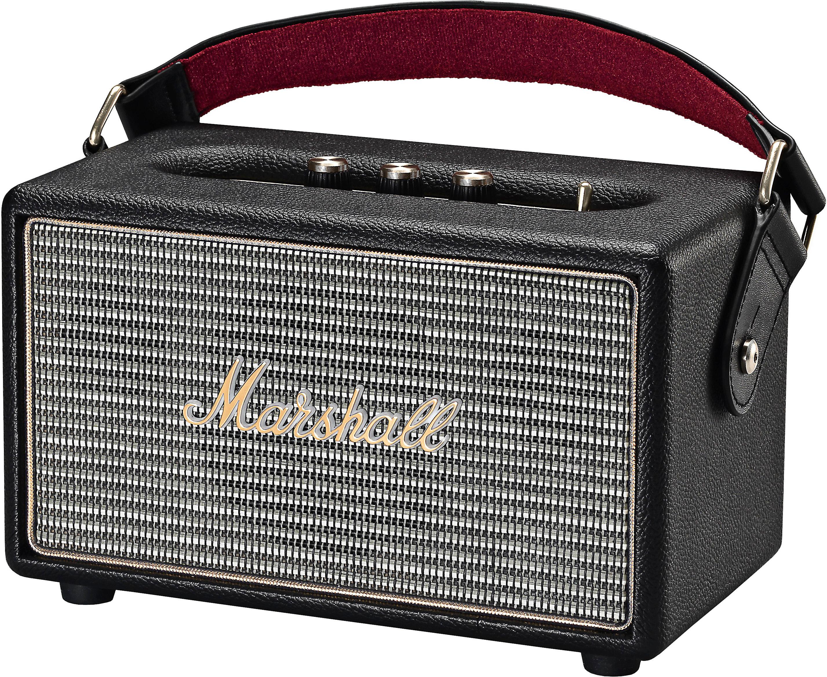 Marshall Kilburn (Black) Portable Bluetooth® speaker at Crutchfield