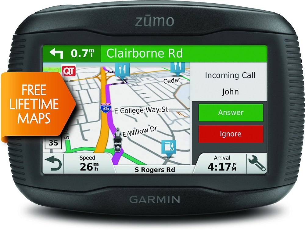 x150Z395LM F garmin z�mo� 395lm portable motorcycle navigator with free garmin motorcycle wiring harness at edmiracle.co