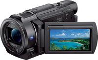 """Sony Handycam FDR-AX33/B 4K Camcorder  3"""", Wi-Fi, NFC, CMOS"""