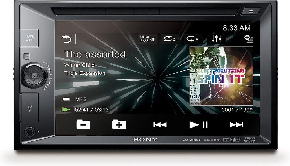 x158XAV650B F sony xav w650bt dvd receiver at crutchfield com  at creativeand.co