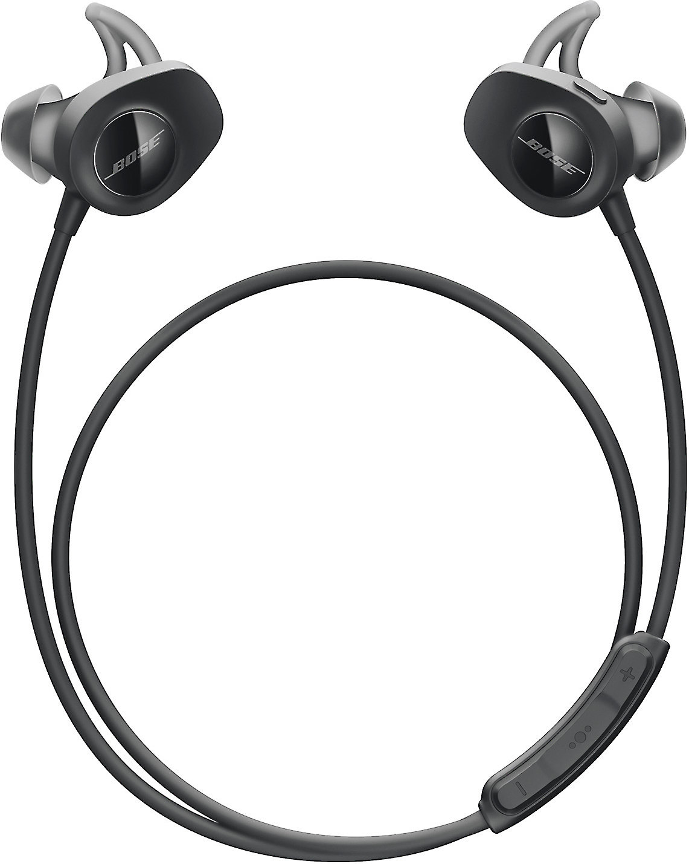 2f4983bca69 Bose® SoundSport® wireless headphones (Black) at Crutchfield