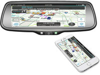 """Boyo VTW73M  7.3"""" Replacement  Mirror with Screen Mirroring"""