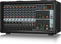 Behringer 14-CH Powered Mixer  2000 Watts w/wireless option