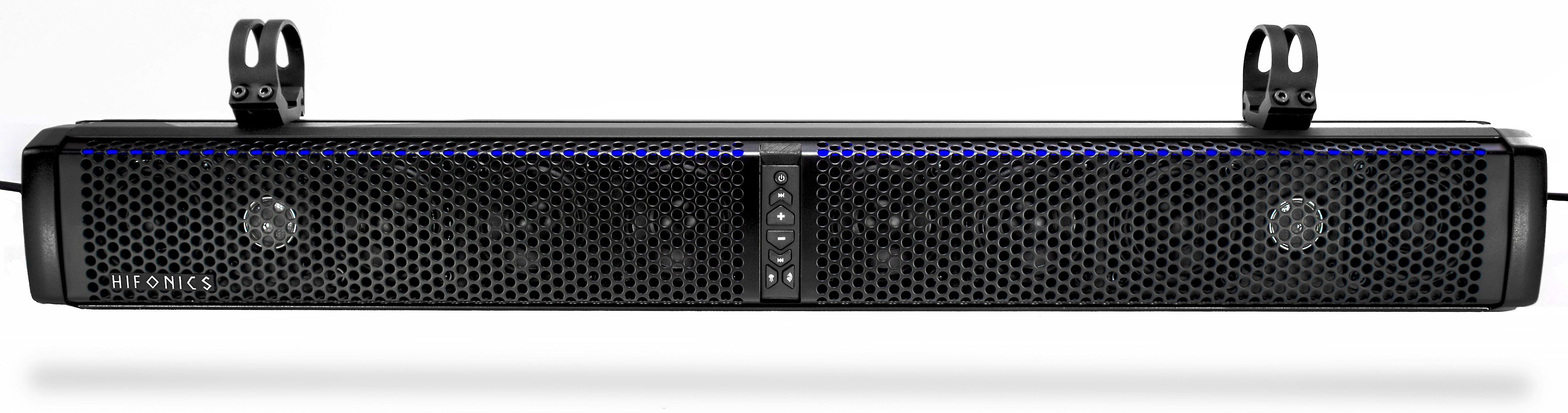 hifonics thor tps-10 powered 10-speaker bluetooth® soundbar at crutchfield