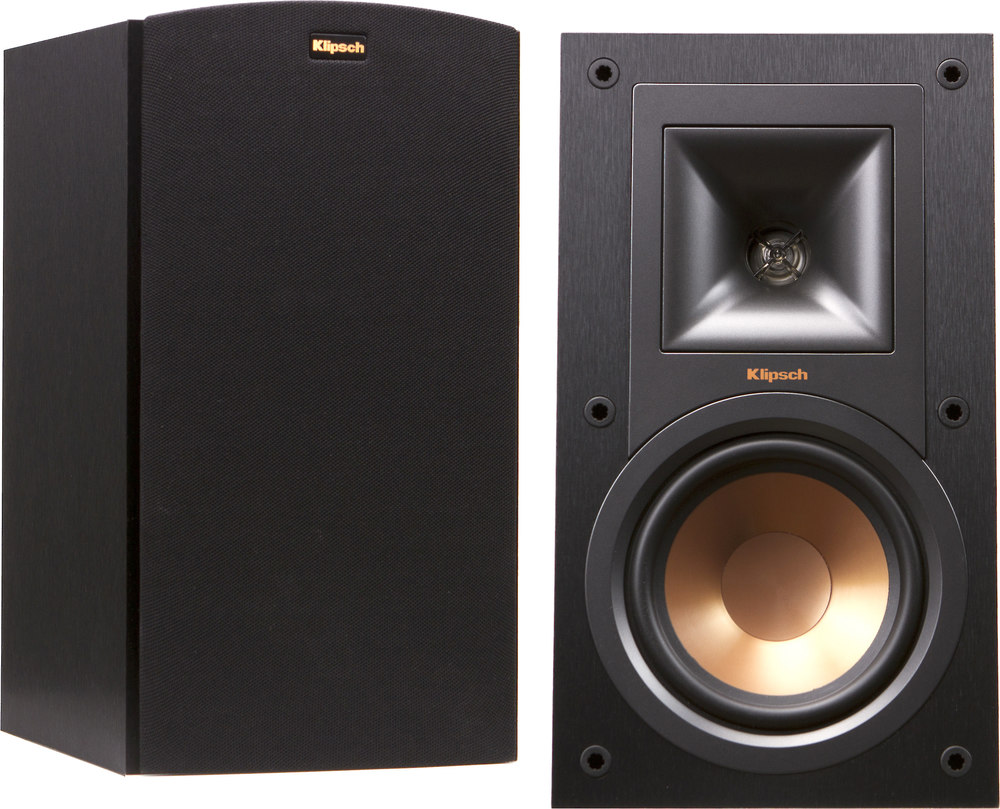 Klipsch Reference R 15m Bookshelf Speakers At Crutchfield Com