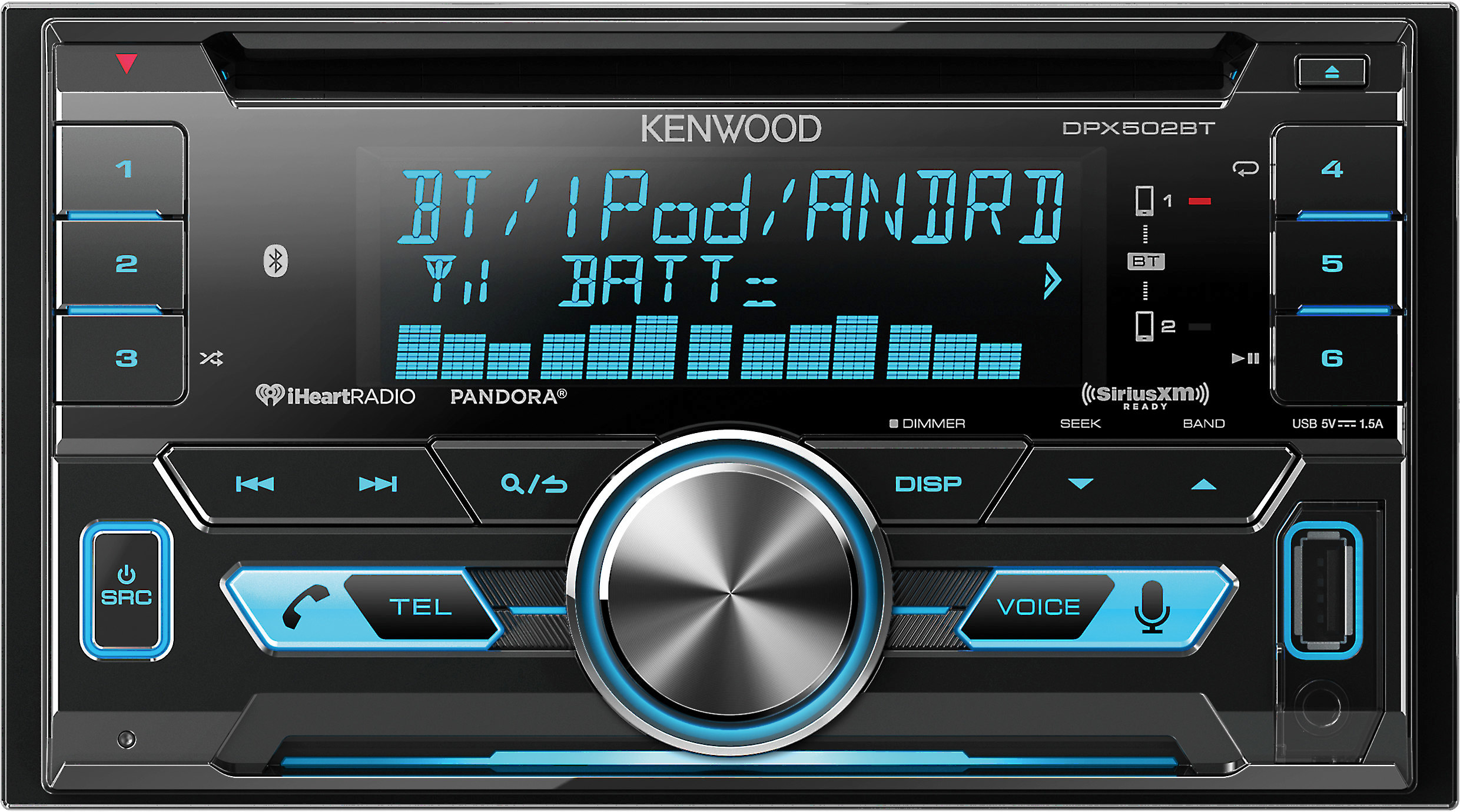 Kenwood DPX502BT on