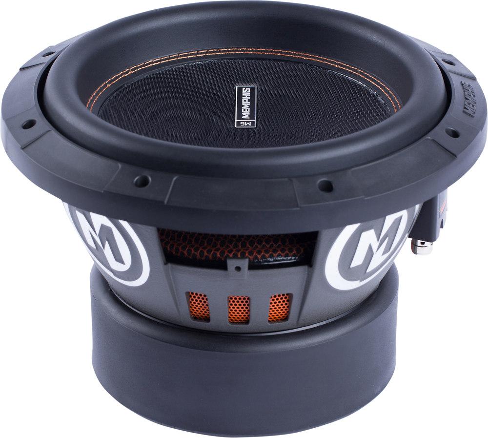 """Memphis Br15d4 15 Sub 800w Car Audio Dual 4 Ohm Subwoofer: Memphis Audio 15-M612D4 M6 Series 12"""" 4-ohm Dual Voice"""
