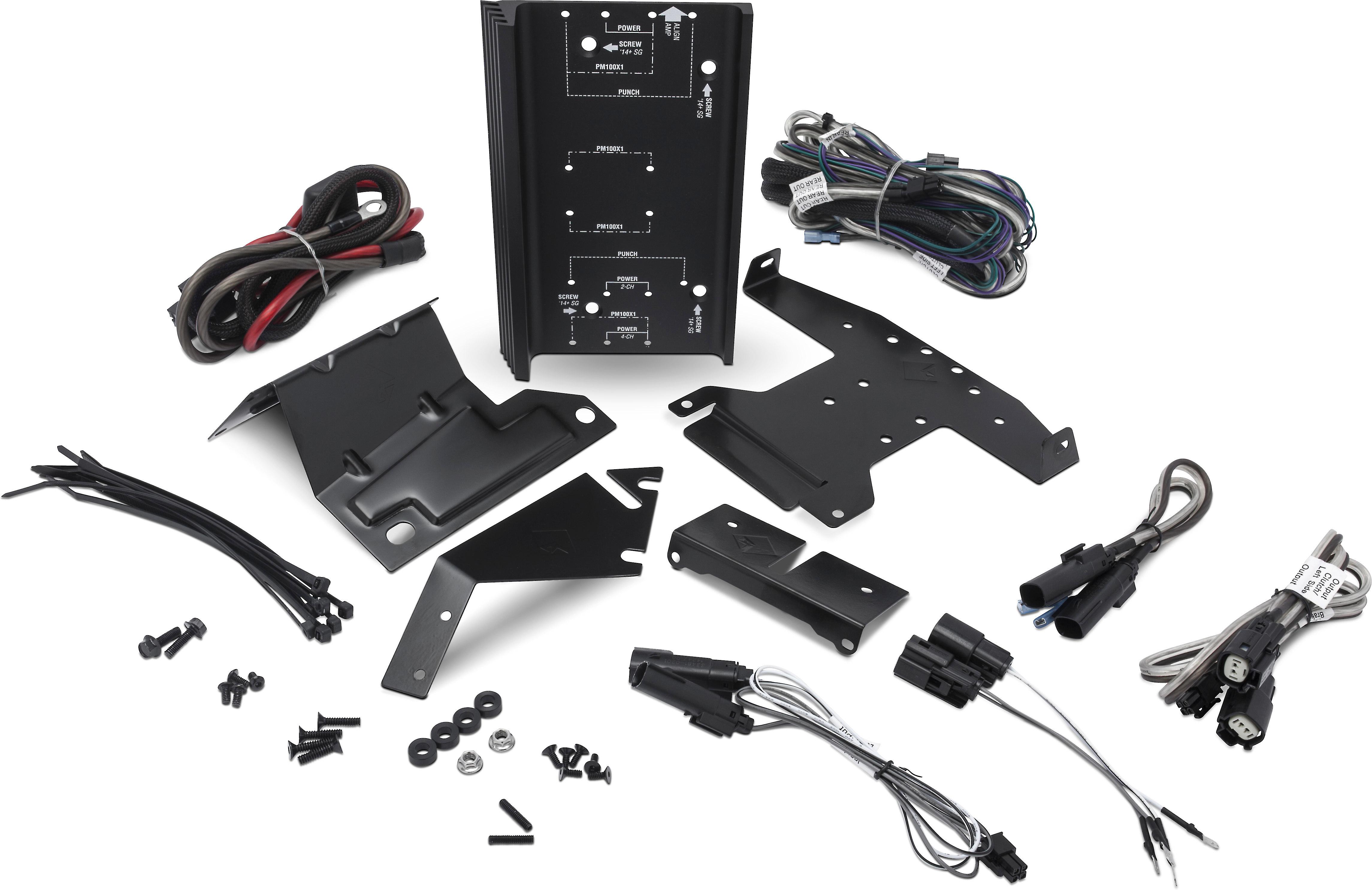 Rockford Fosgate RFKHD Amplifier installation kit for select 1998-up on