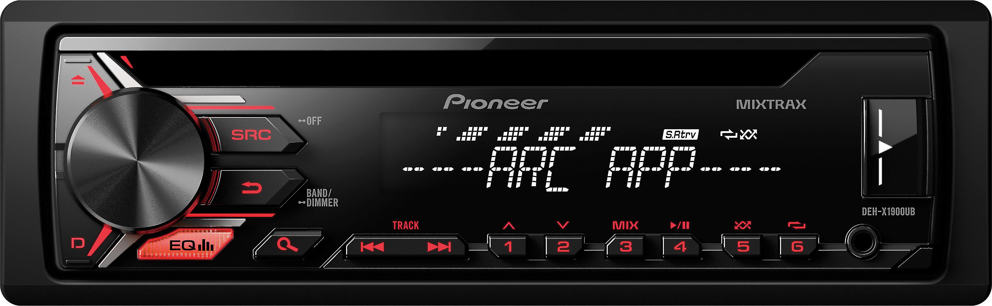 Pioneer DEH-X1900UB