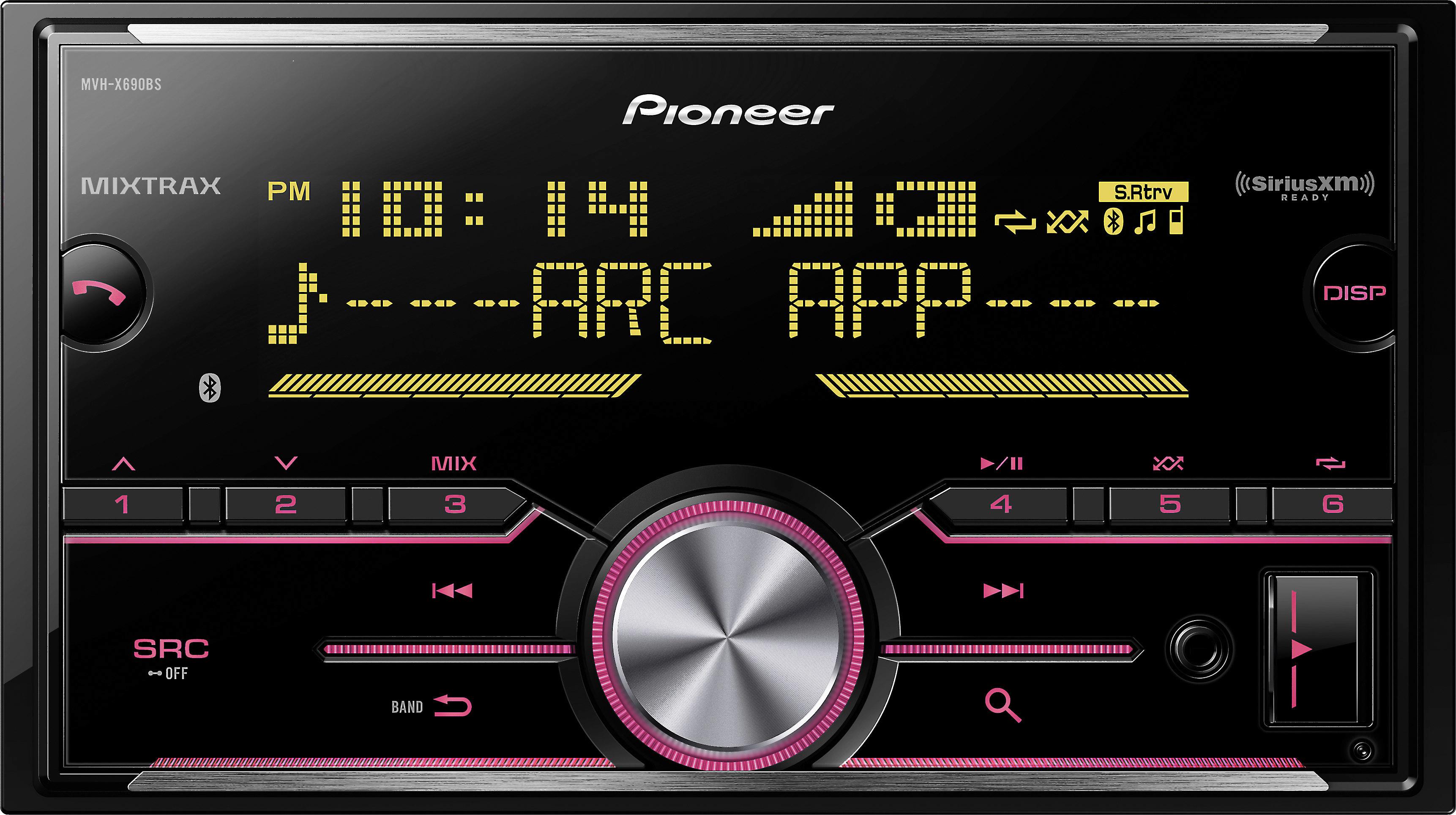 Pioneer MVH-X690BS Digital media receiver (does not play CDs