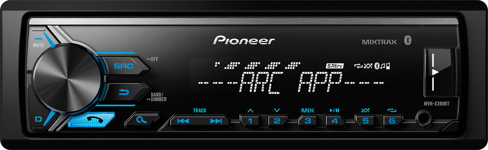 x130X390BT F pioneer mvh x390bt digital media receiver (does not play cds) at  at gsmportal.co