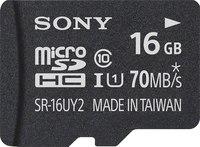 Sony SR16UY2A/TQ microSDHC Memory Card 16GB UHS-1 Class 10