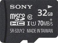 Sony SR32UY2A/TQ microSDHC Memory Card 32GB UHS-1