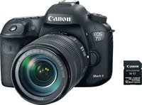 Canon EOS 7D Mark II w/ 18-135mm f/3.5-5.6 IS USM and Wi-...