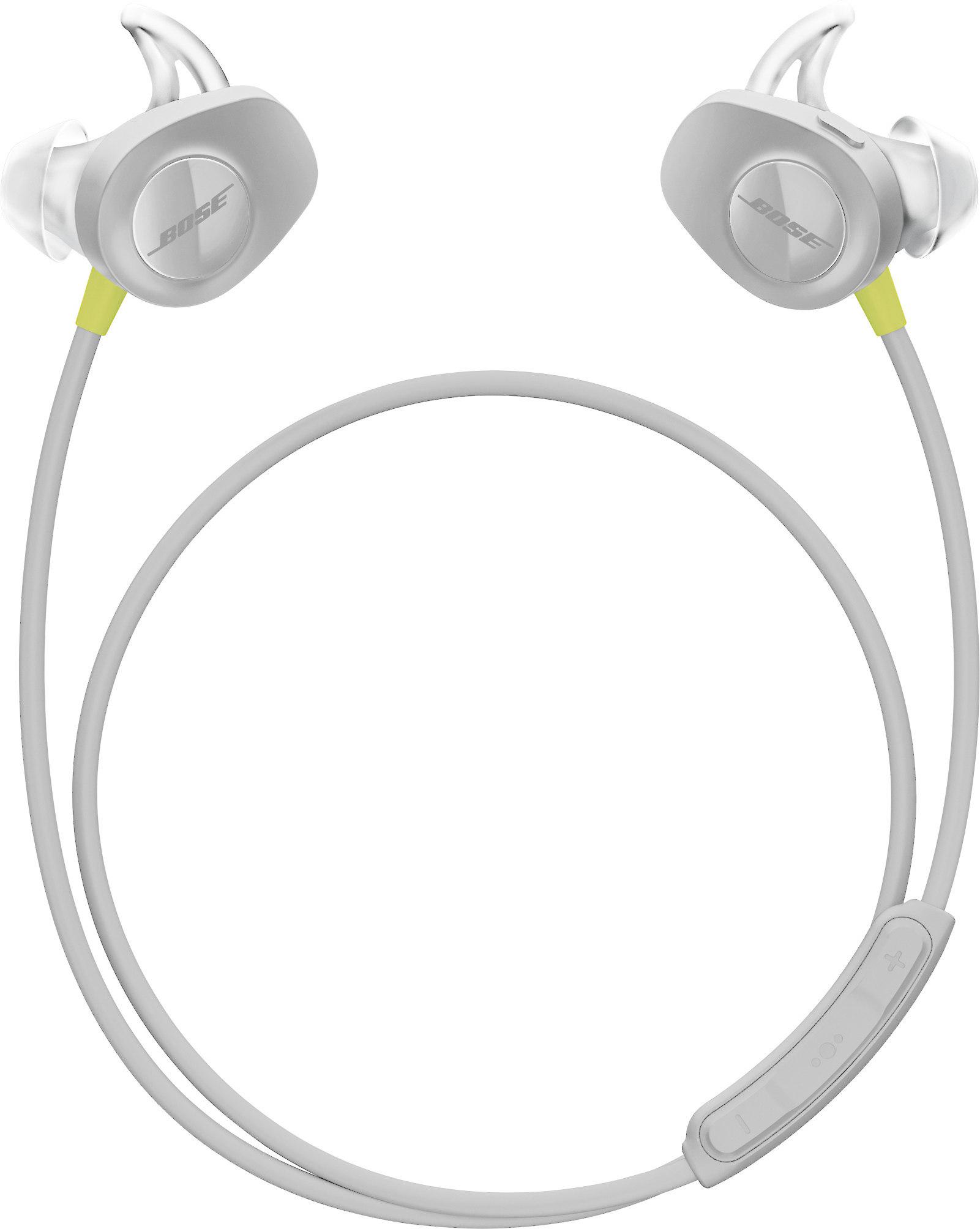 8bd8bb2d73f Bose® SoundSport® wireless headphones (Citron) at Crutchfield.com