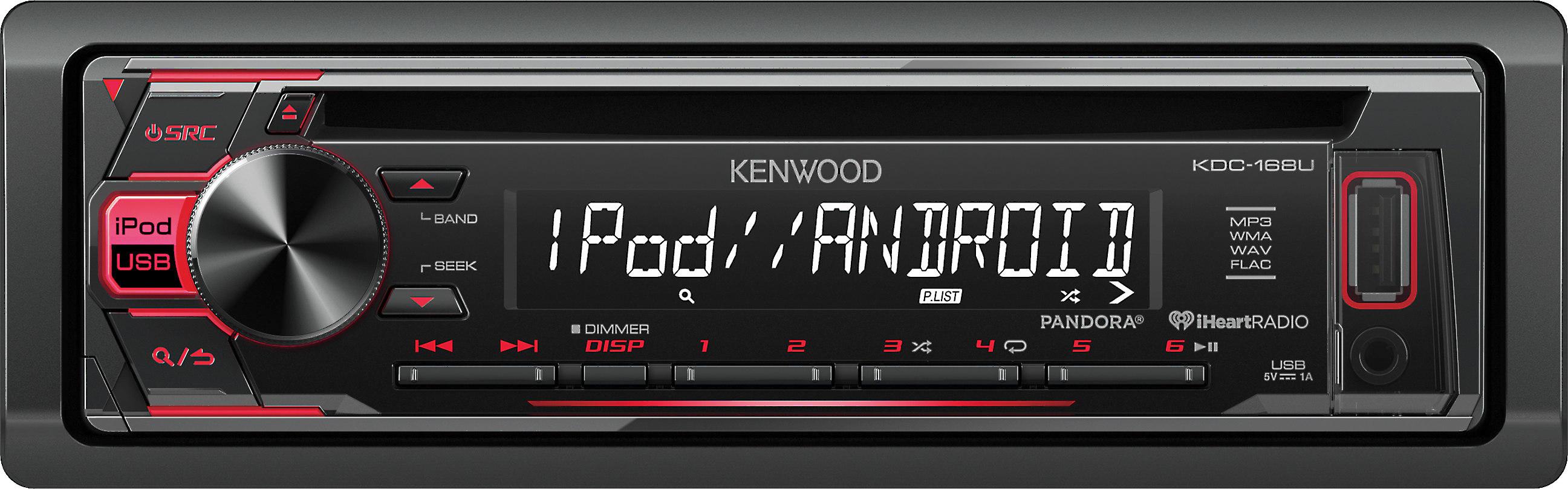 Kenwood Kdc 168u Cd Receiver At Crutchfield