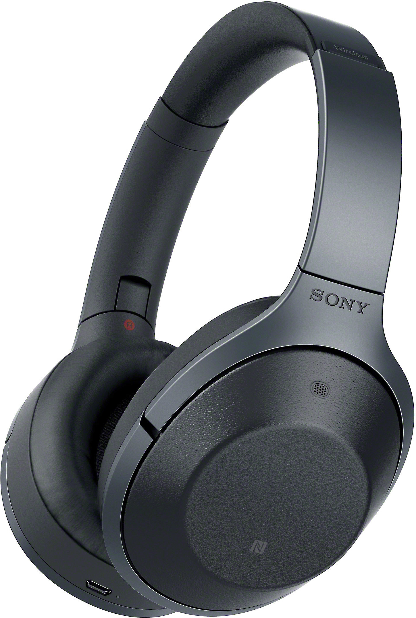 bfb5e906172 Sony MDR-1000X (Black) Over-ear Bluetooth® wireless noise-canceling  headphones at Crutchfield.com