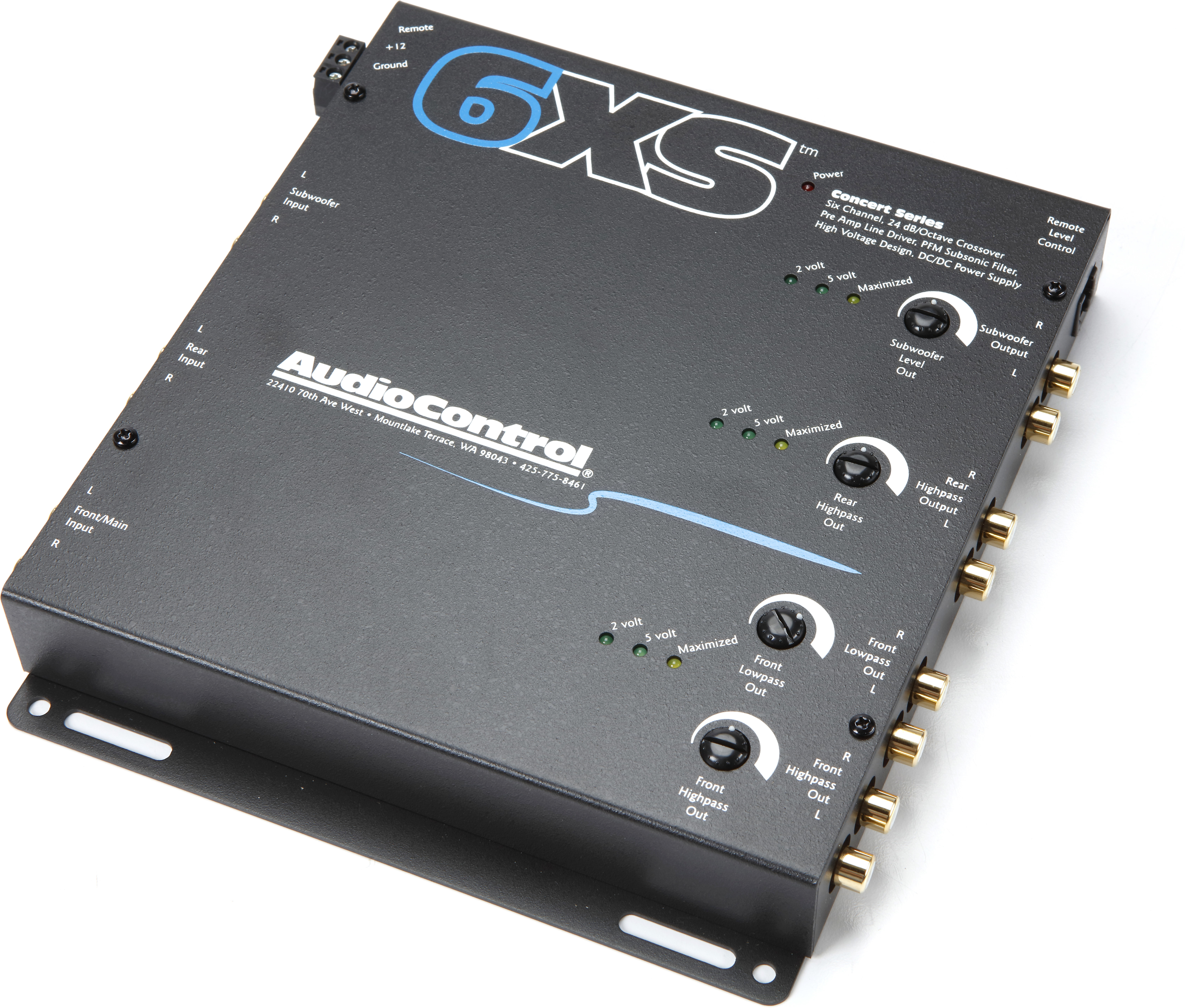 AudioControl 6XS (Black)
