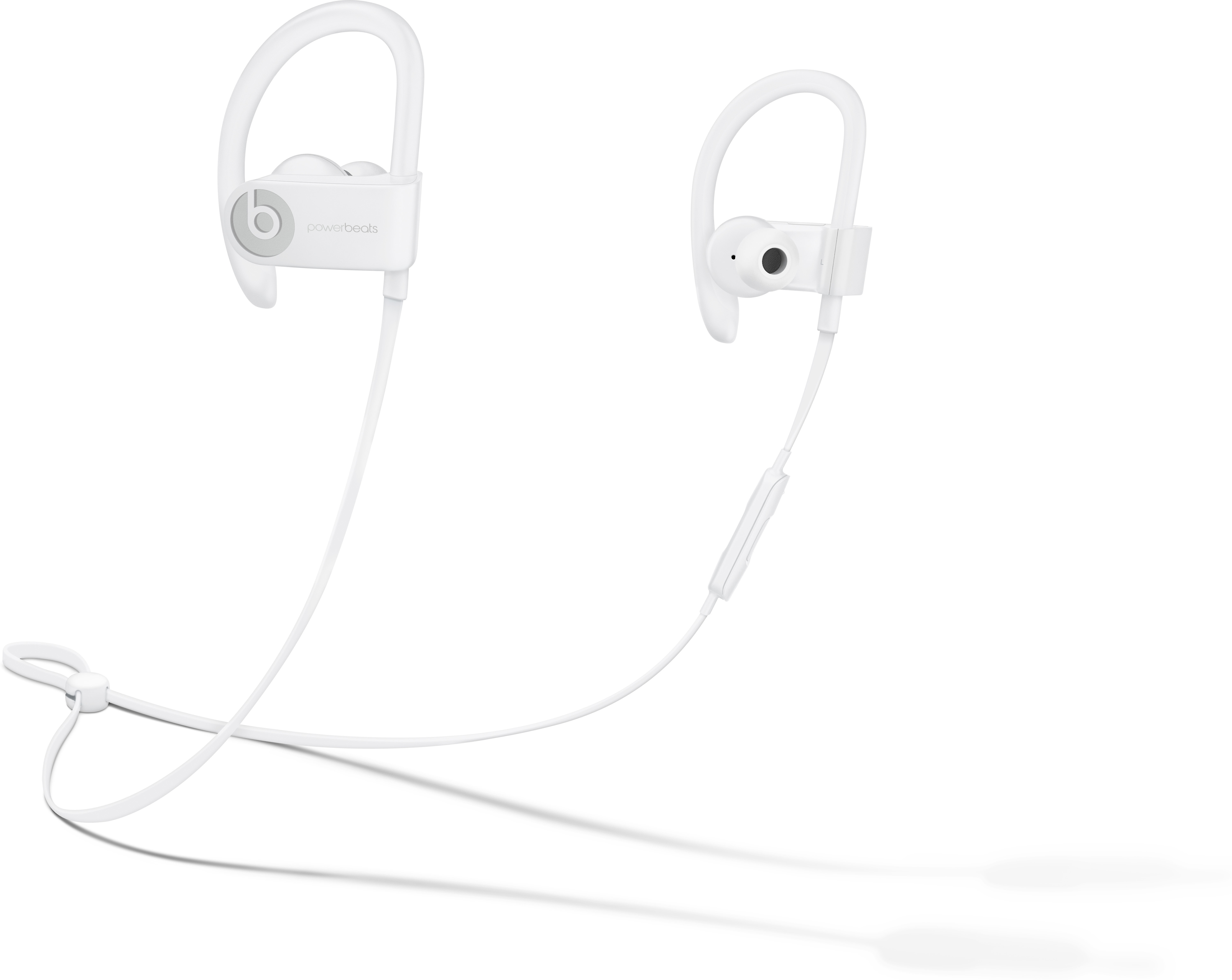 Beats By Dr Dre Powerbeats3 Wireless White In Ear Bluetooth Sport Headphones With Apple W1 Chip At Crutchfield