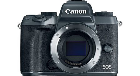 Canon EOS M5 (no lens included)