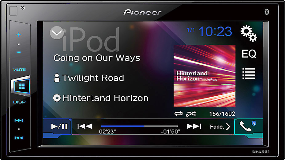 x130290BT F pioneer mvh av290bt digital multimedia receiver (does not play cds  at gsmportal.co