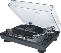 Audio-Technica AT-LP120BK-USB  direct-drive turntable wit...